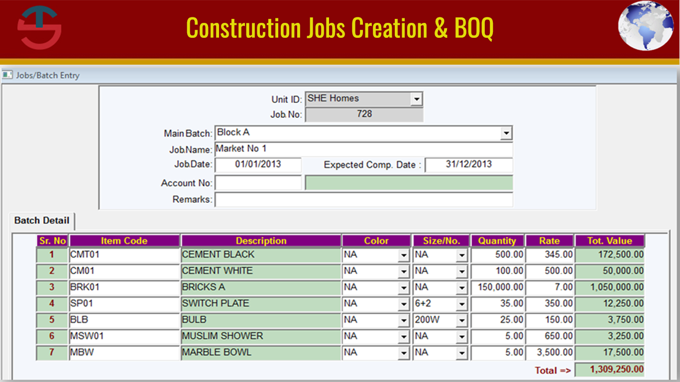 Construction Jobs Creation