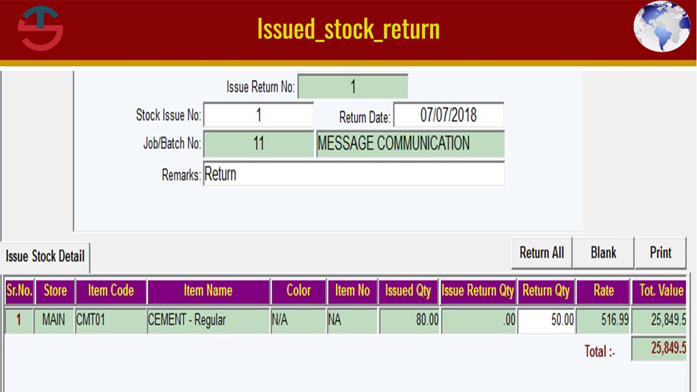 Stock Return