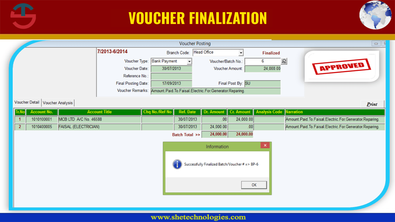 Voucher Generator Software